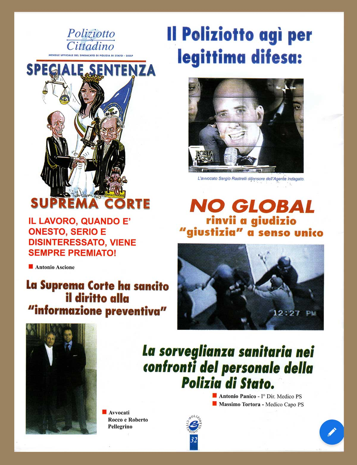 Studio Legale Rastrelli - Articoli
